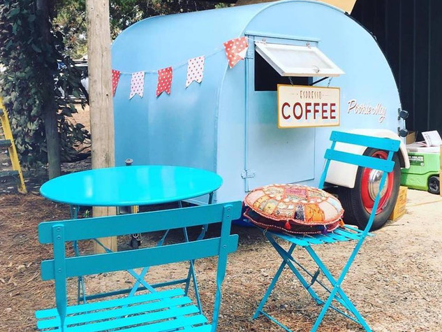 Pookie May Coffee Cart