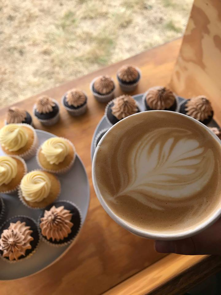 Miss Molly's Cakes Coffee Cart