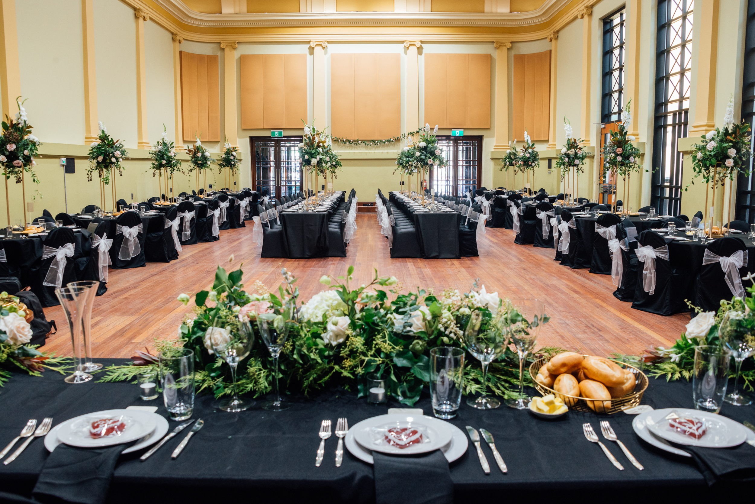 Weddings at Brunswick Town Hall