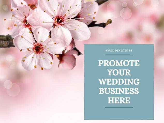 PROMOTE #WEDDINGTRIBE