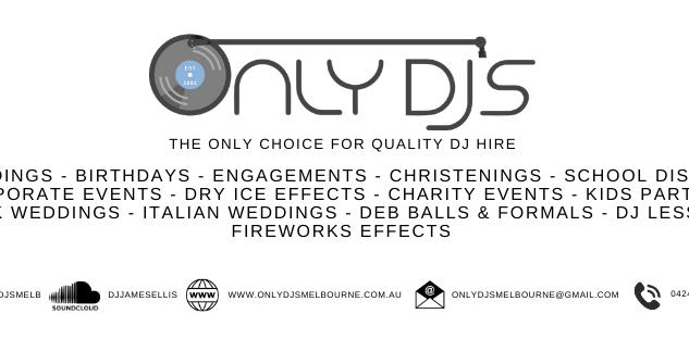 Only DJ's Melbourne