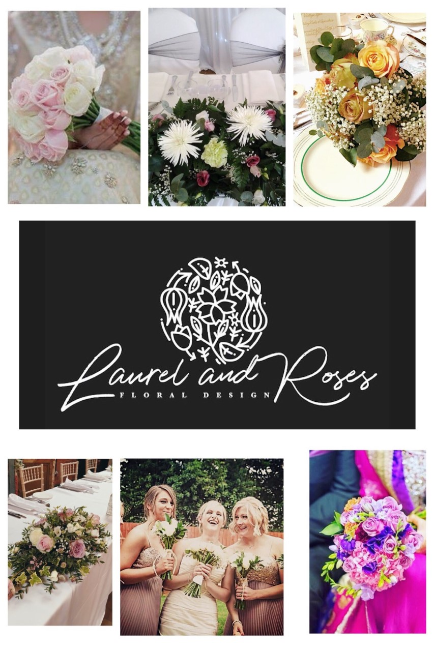Laurel and Roses