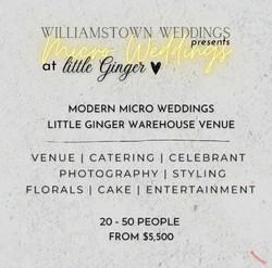 Williamstown Weddings