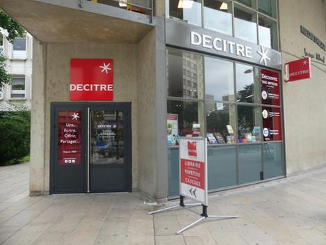 Decitre ouvre une 11ème librairie dans le centre ville de Saint-Priest