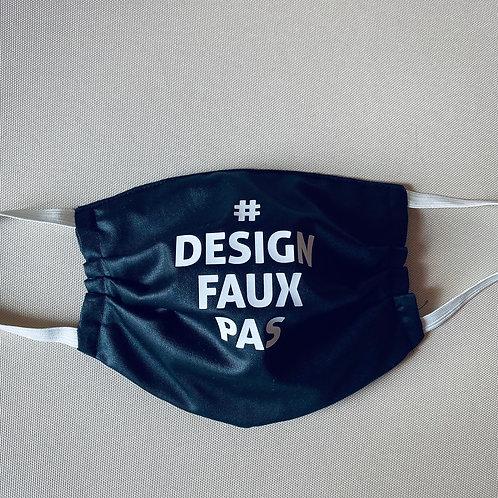 Statementmaske Designfauxpas