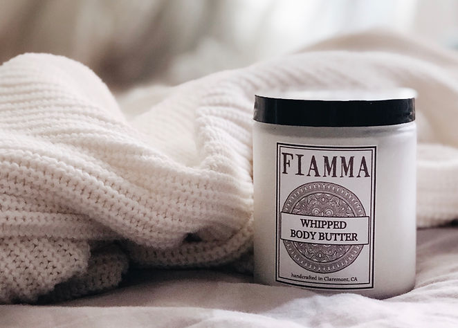 Fiamma Naturals Whipped Body Butter