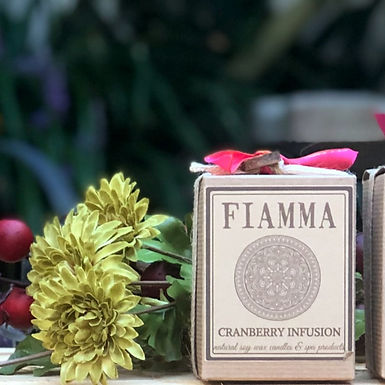 Cranberry Infusion Soy Candle