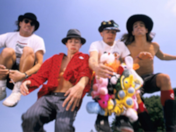 Australian Red Hot Chili Peppers Backgro