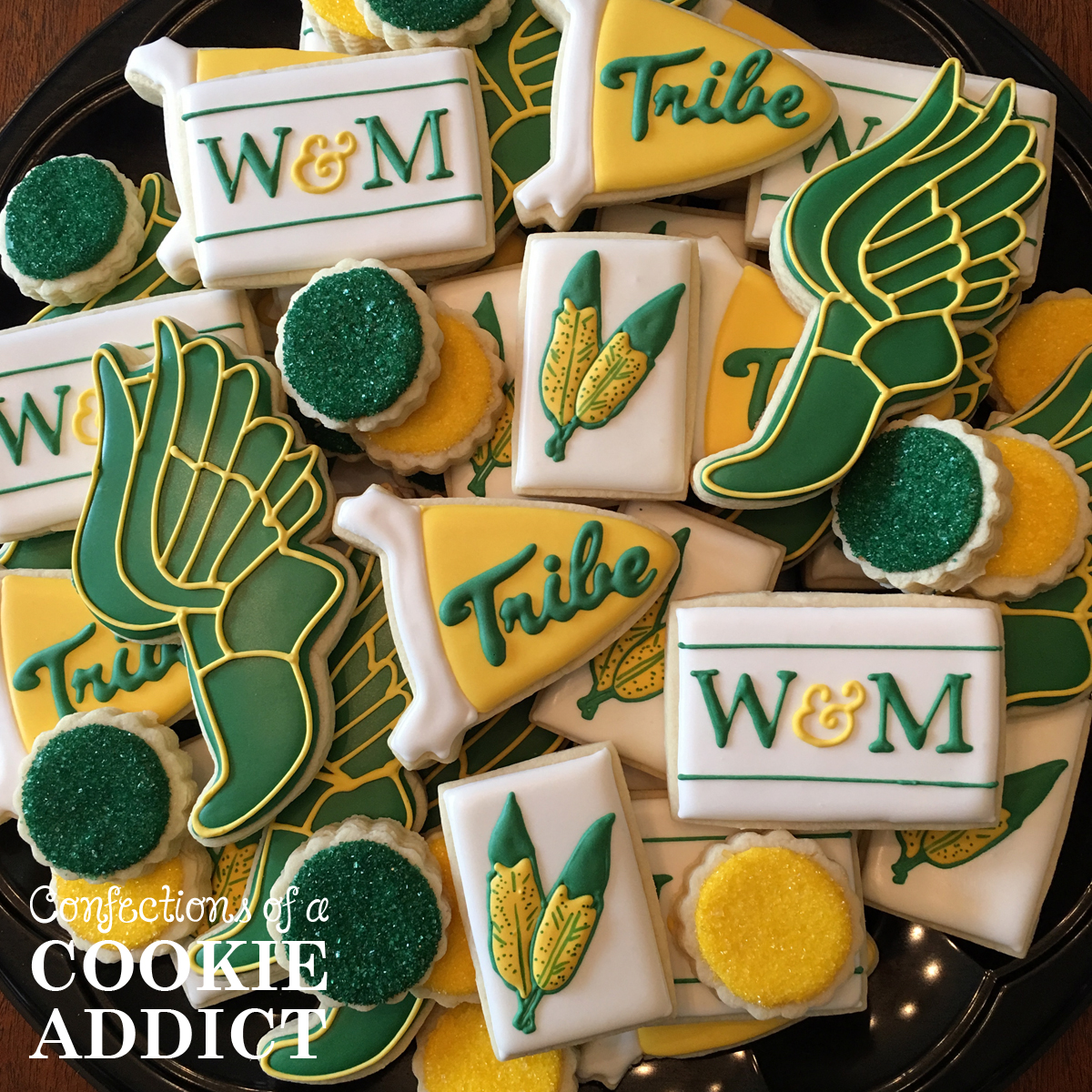 William & Mary Track Cookies
