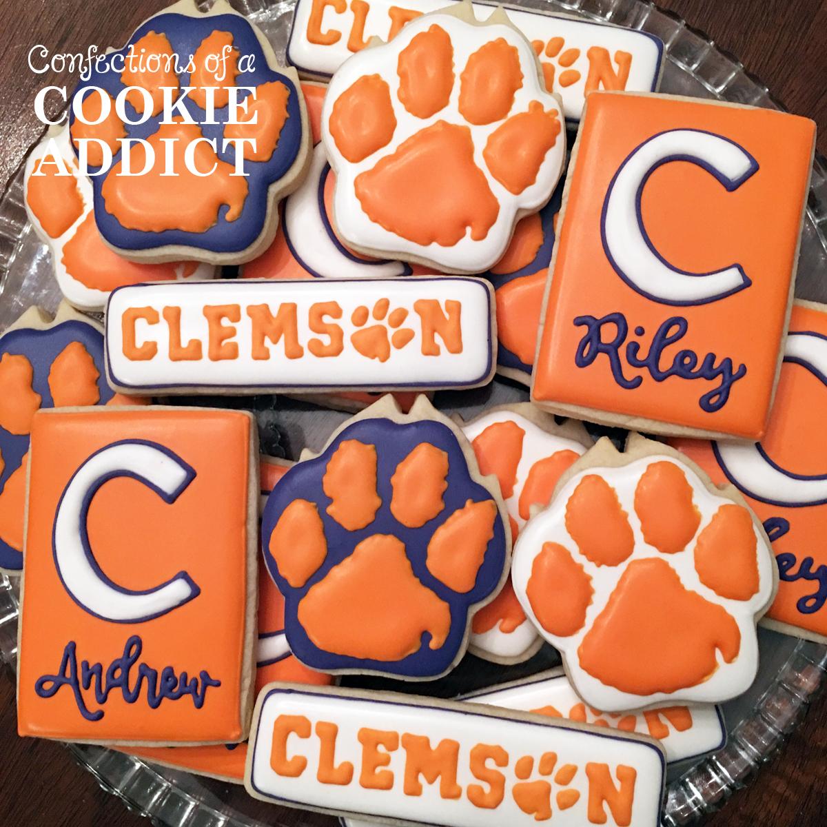 Clemson Cookies