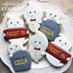 USC Halloween Cookies