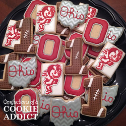 Ohio State Football Cookies