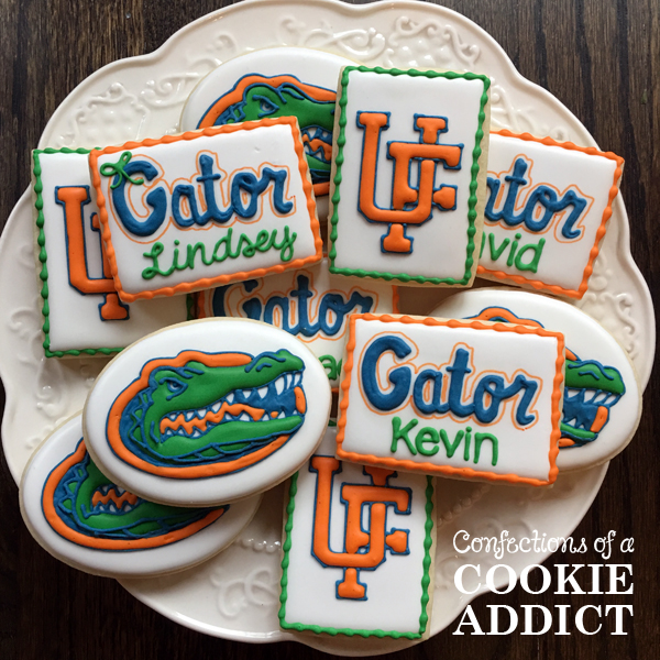 Florida Gator Cookies