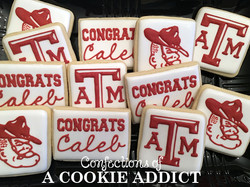 Texas A & M Cookies