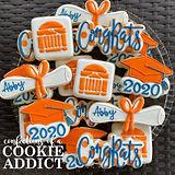 UVA Grad Cookies