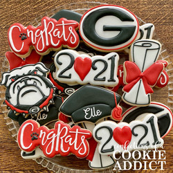 University of Georgia Cookies