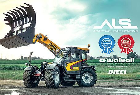 La colaboración Walvoil Dieci gana el premio EIMA Novedad Técnica