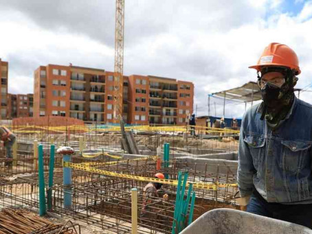 Recuperación del sector de la construcción se espera solo hasta 2021