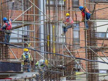 Ya se retomaron 94 % de proyectos de construcción