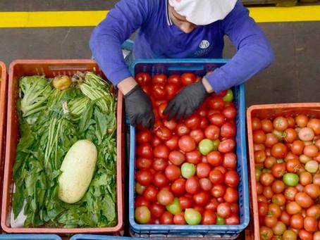 Alimentos, única de las 26 actividades industriales que creció en 2020
