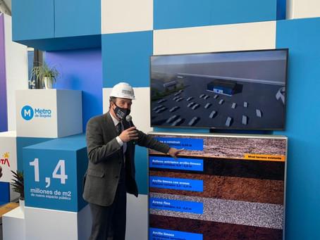 Terrenos donde inicia construcción del metro de Bogotá se entregan en un plazo de tres semanas