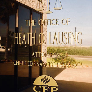 Heath O Lauseng, Attorney, Lawye Copus Christi, Tax, Investing, Heath