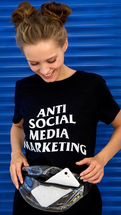 Футболка Feelosophy Anti Social Media Marketing