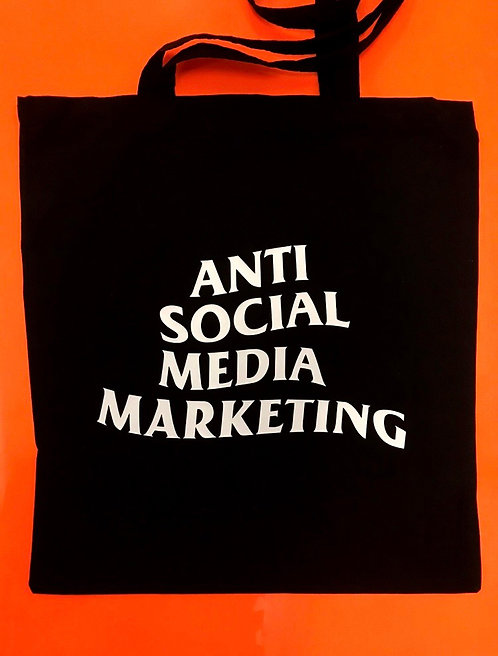 Шоппер Философи Anti Social Media Marketing