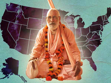 Tracing Srila Gurudeva's first US tour