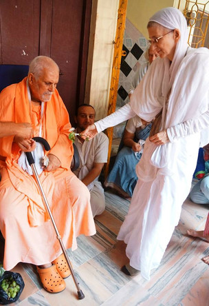 """""""Nama Will Manifest by Performing Sincere Seva"""""""