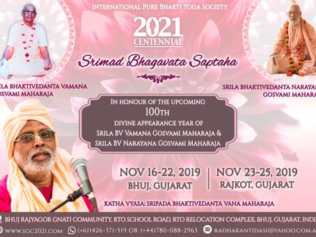 108 Bhagavat Saptahas Worldwide