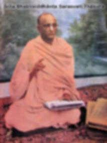 Srila Bhakti Siddhanta Sarasvati Thakura Prabhupada