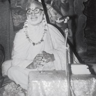 The Founder-ācārya of ŚrīCaitanya Gauḍīya Maṭha, Śrī Śrīmad Bhakti Dayita Mādhava Gosvāmī Mahārāja