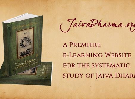Jaiva Dharma e-Learning Website