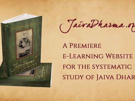 Jaiva Dharma e-Learning Website