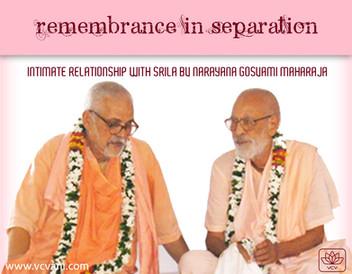 Intimacy with Śrīla Bhaktivedānta Nārāyaṇa Gosvāmī Mahārāja
