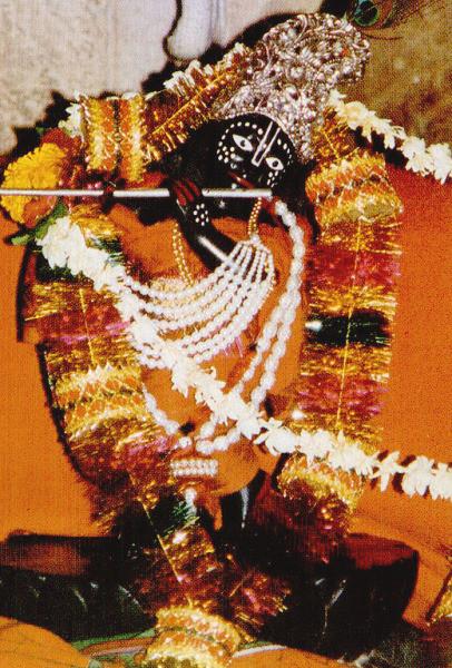 Syamananda Prabhu's Syamasundara deity, gifted by Srimati Radharani