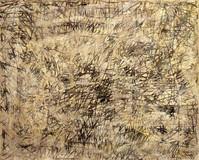 Palimpseste ocre clair, 1960