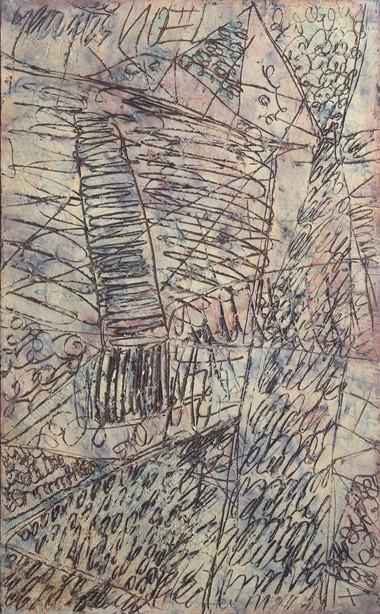 Echaffaudage d'un poème, 1960