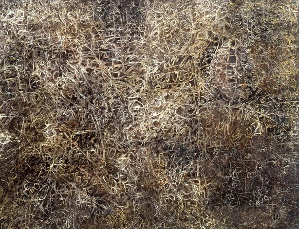 Sans titre (Palimpseste organique), 1958