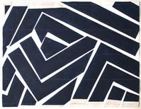 Grand format noir et blanc emballé, 1979