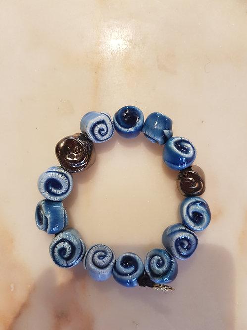 braccialetto rose blu