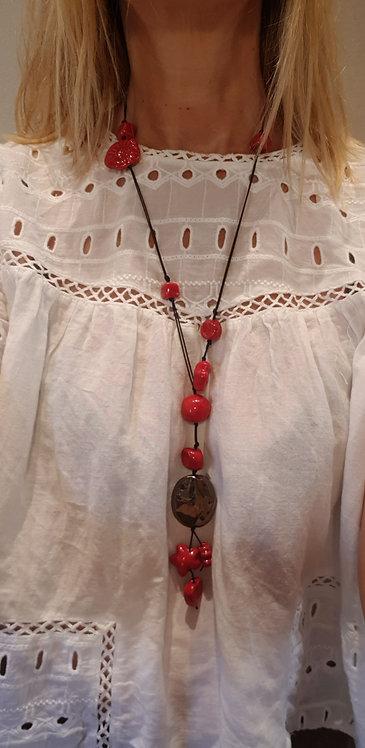 Collanina Rosso Passione