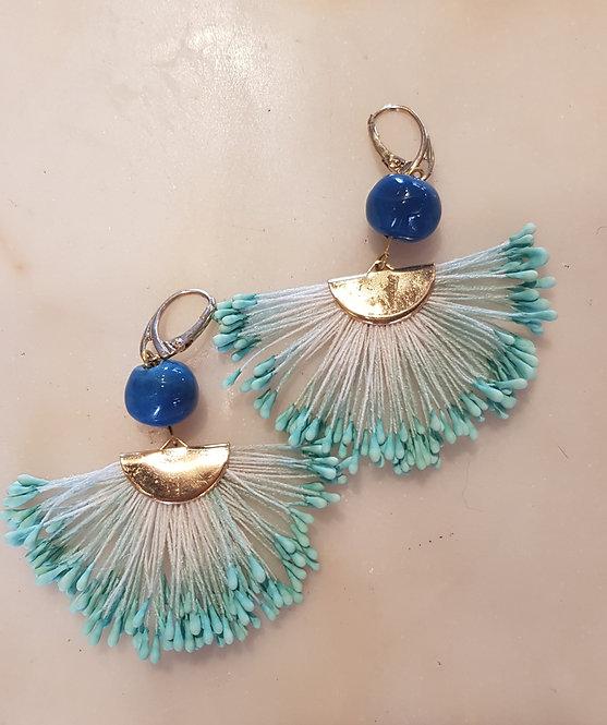 orecchini Pavone