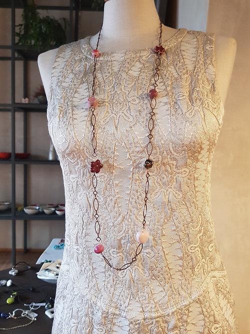 Chain lunga rosa 3