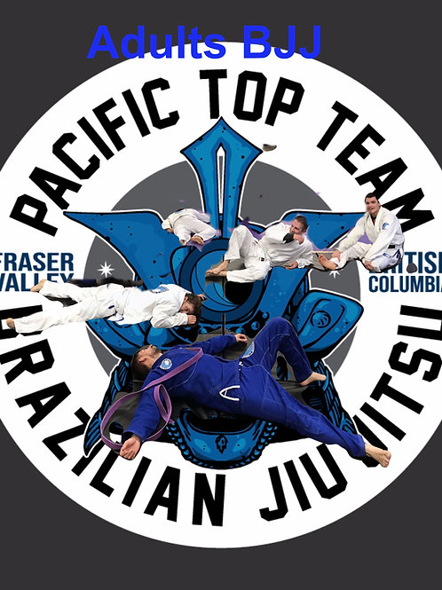 Adult BJJ Monthly