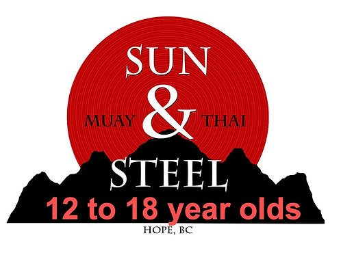 12 -18 year old Muay Thai Kickboxing