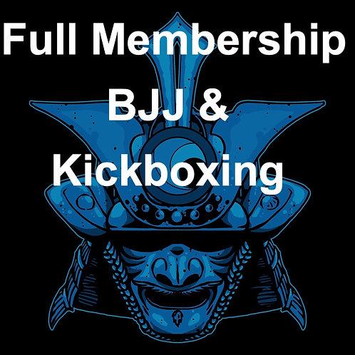FULL Membership BJJ and Kickboxing