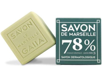 Cube de Savon de Marseille / Olive-Coco-Chanvre 250gr