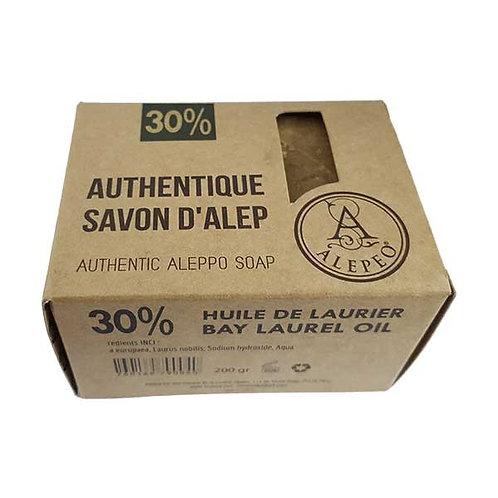 Savon d'Alep Biologique  30% - 200gr / Alepeo